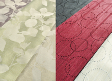 寝室の厚手カーテン